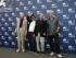 """Heinz Lieven, de izquierda a derecha, el director Atom Egoyan, Bruno Ganz y Jurgen Prochnow posan para retratos durante una sesión de fotos de la cinta """"Remember"""" en la 72a edición del Festival de Cine de Venecia en Venecia, Italia, el jueves 10 de septiembre de 2015. (Foto Joel Ryan/Invision/AP)"""
