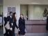 La canciller mexicana Claudia Ruiz Massieu, al centro, llega para hablar con los medios de comunicación luego de visitar a turistas mexicanos lesionados en el hospital Dar Al Fouad en El Cairo, Egipto, el miércoles 16 de septiembre de 2015. Massieu se encuentra en El Cairo luego de que fuerzas de seguridad egipcias mataran por error a cuando menos ocho turistas mexicanos en el desierto. (Foto AP/Nariman El-Mofty)