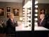 """Imagen difundida por la cadena NBC en la que aparece el conductor Jimmy Fallon (izquierda) y el precandidato presidencial republicano Donald Trump en una escena de comedia durante la grabación del programa """"The Tonight Show Starring Jimmy Fallon"""" el viernes 11 de septiembre de 2015, en Nueva York. (Douglas Gorenstein/NBC vía AP)"""