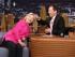Hillary Clinton y Jimmy Fallon.