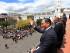 El presidente Rafael Correa en la ceremonia de Relevo de Guardia del Grupo Escolta Presidencial, en el Palacio de Carondelet el lunes 7 de septiembre de 2015. Foto: Carlos Silva / Presidencia de la República.