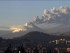 El volcán Cotopaxi, visto desde Quito.
