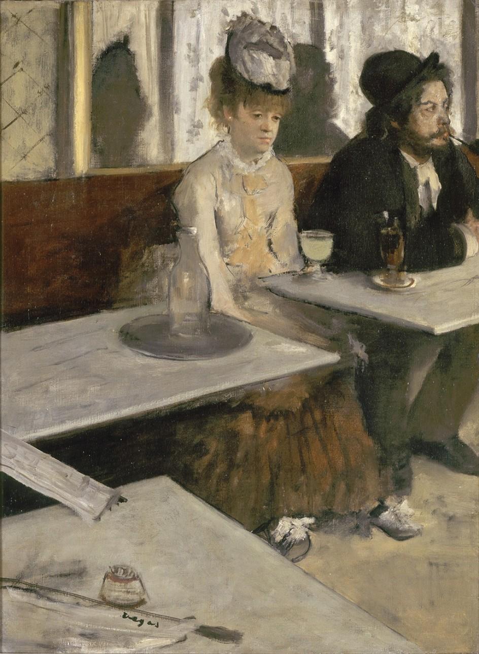 EDGAR DEGAS (1834-1917) - L'ABSINTHE, 1875-76 'La absenta', óleo de Degas (Paris, musée d'Orsay © Musée d'Orsay, Dist. RMN-Grand Palais / Patrice Schmidt)