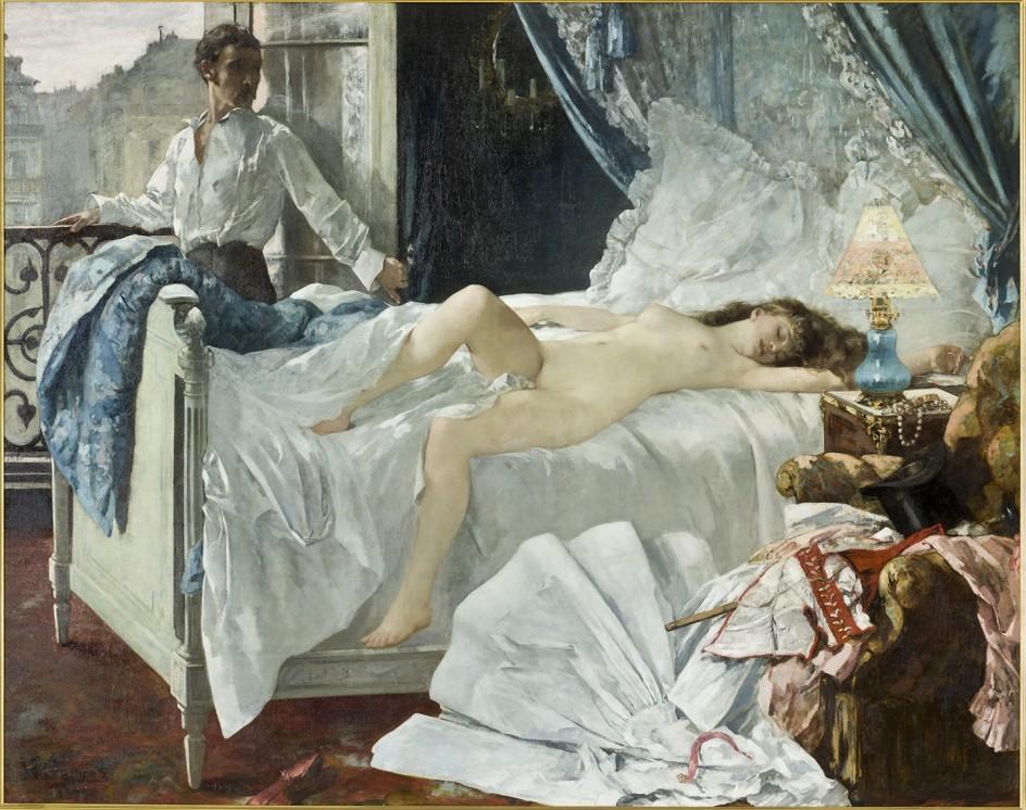 PAUL CÉZANNE (1839-1906) - TENTATION DE SAINT ANTOINE, VERS 1877 La 'Tentación de San Antonio', de Paul Cézanne (Paris, musée d'Orsay © RMN-Grand Palais (musée d'Orsay) / Hervé Lewandowski)