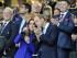 Los duques de Cambridge, Guillermo y Catalina asisten a la ceremonia de inauguración del Mundial de rugby de Inglaterra en Londres, Reino Unido el 18 de septiembre de 2015. EFE/Gerry Penny