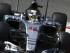 El piloto de Mercedes, Lewis Hamilton, maneja en una práctica del GP de Italia el sábado, 5 de septiembre de 2015, en Monza, Italia. (AP Photo/Alessandro Trovati).