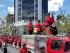 Homenaje póstumo a los bomberos fallecidos el lunes 7 de septiembre de 2015 en el sector de Puembo, Quito. Foto: Alfredo Cárdenas