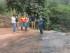 El equipo técnico, encabezado por la Dirección de Gestión Ambiental, de la Prefectura del Guayas, inspeccionó la cascada El Salto del Pintado para reconfirmar que no hay contaminación. Foto: Prefectura del Guayas
