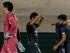 ASUNCIÓN (PARAGUAY) 16/09/2015. Juan Cavallaro de Liga de Quito (d), festeja su gol de penal ante el Nacional de Paraguay hoy, miércoles 16 de septiembre de 2015, durante el partido de la segunda fase de la Copa Sudamericana, disputado en el Defensores del Chaco de Asunción (Paraguay). EFE/Andrés Cristaldo Benítez