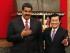 El presidente de Venezuela , Nicolás Maduro (I) y su homólogo vietnamita Truong Tan Sang (D) en el Palacio Presidencial en Hanoi , Vietnam, el 31 de agosto de 2015. EFE / EPA / LUONG THAI LINH