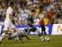 Lionel Messi (d) de Argentina anota ante Bolivia el viernes 4 de septiembre de 2015, durante un partido amistoso en el BBVA Compass Stadium en Houston, Texas (EE.UU.). Argentina ganó 7-0. EFE/ AARON M. SPRECHER.