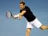 El británico Andy Murray devuelve la pelota en un duelo ante el australiano Thanasi Kokkinakis en el primer match de semifinales de la Copa Davis en Glasgow, Escocia, el viernes, 18 de septiembre del 2015. (Foto AP/Scott Heppell)