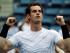 El británico Andy Murray tras su victoria ante el francés Adrian Mannarino en la segunda ronda del Abierto de Estados Unidos, el jueves 3 de septiembre de 2015. (AP Foto/Charles Krupa)
