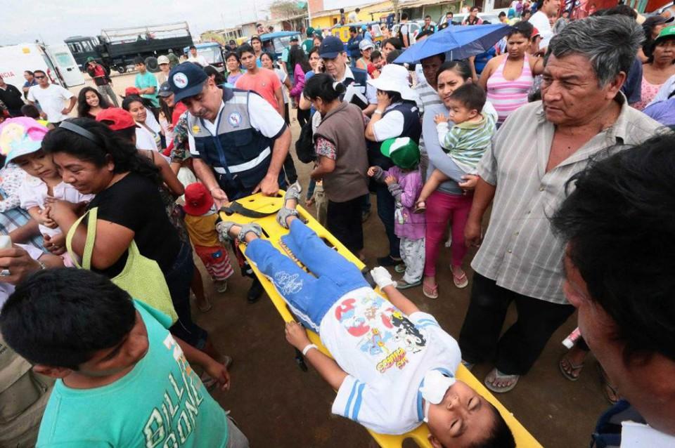 El norte de Perú realizó simulacro de evacuación por el fenómeno del Niño