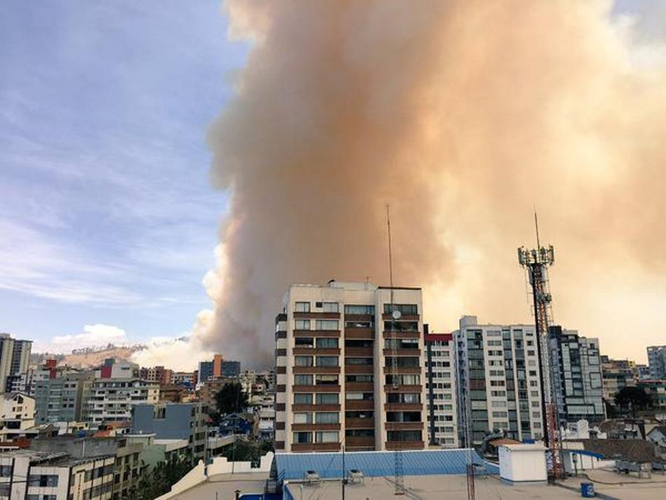 Foto por Bomberos de Quito