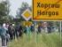 Refugiados cruzan la frontera con Hungría cerca de Horgos. EFE/Sandor Ujvari