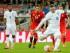 El jugador de Inglaterra, Wayne Rooney, anota un gol contra Suiza en las eliminatorias de la Eurocopa el martes, 8 de septiembre de 2015, en Londres. (AP Photo/Frank Augstein)