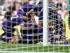 Ryan Mason (centro) festeja un gol con sus compañeros del Tottenham en el partido contra el Sunderland el domingo 13 de seprtiembre de 2015. (Foto AP/Scott Heppell)