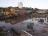 Vista de os destrozos causados por el tsunami posterior al terremoto 8,4 en la escala de Richter que sufrió Chile el miércoles 16 de septiembre, en la localidad costera de Con Con, cerca de Valparaiso, Chile, el 17 de septiembre de 2015. EFE/Marcelo Hernandez/AtonChile/CHILE OU