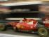 El piloto de Ferrari Sebastian Vettel conduce su auto durante las prácticas del Gran Premio de Singapur el sábado 19 de septiembre de 2015. (Foto AP/Mark Baker).
