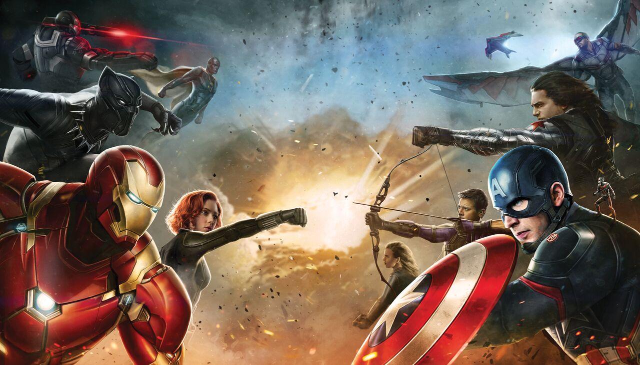 Resultado de imagen para Marvel civil wars