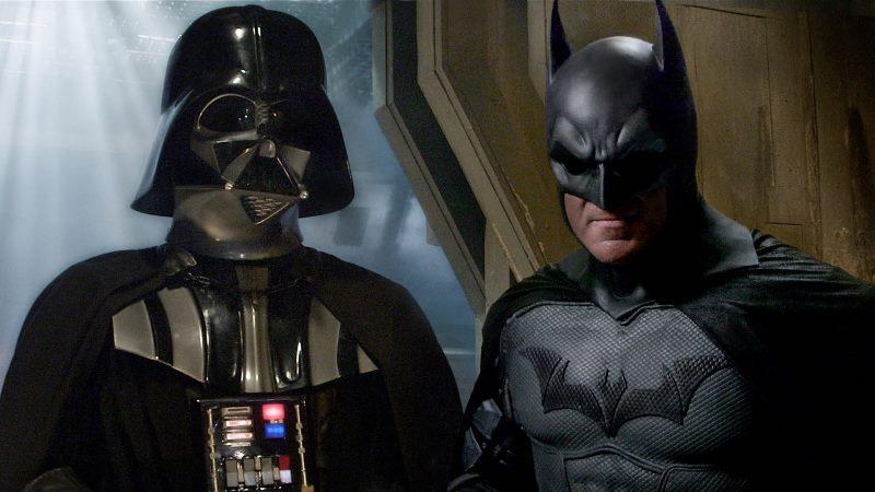 Darth Vader y batman