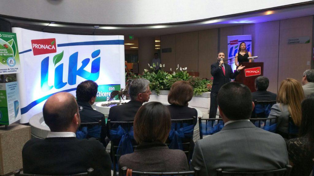 Presentación de LIKI al mercado por parte de PRONACA. Foto: Víctor Posso.