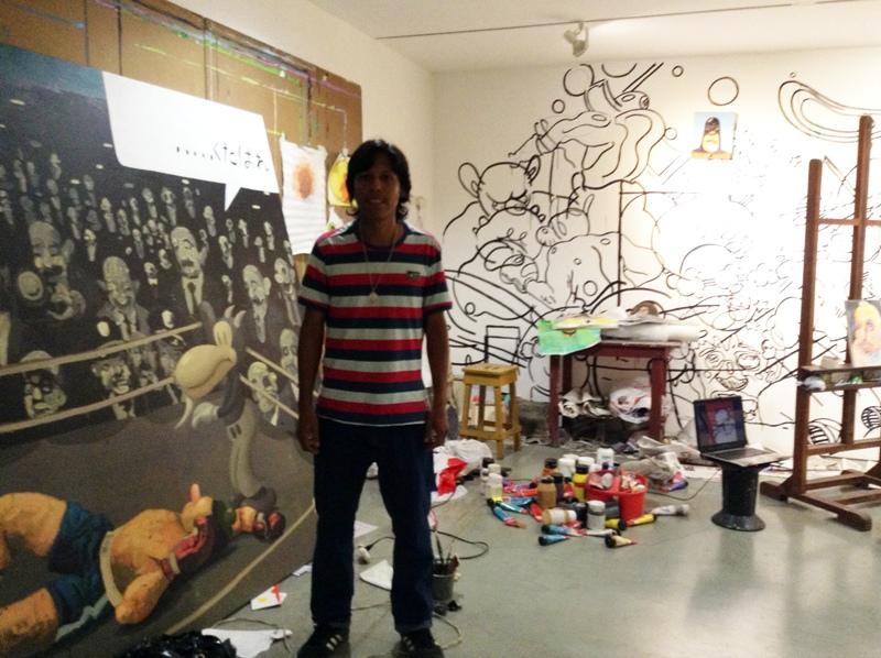 El artista Raymundo Valdéz. Foto: LaRepublica.ec