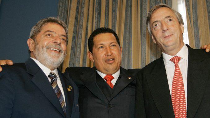 Lula dice que él, Kirchner y Chávez juntos eran como Pelé, Messi y ...