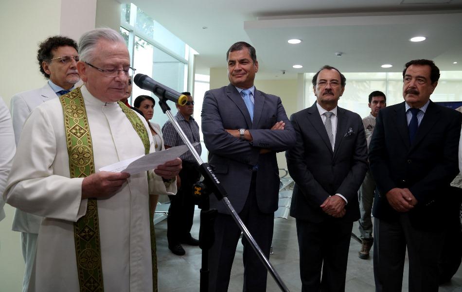 Guayaquil (Guayas), 08 oct 2015.- El Presidente de la República, Rafael Correa, inauguró el edificio de la Contraloría General del Estado en la ciudad de Guayaquil. Foto: Pablo Andrés Reinoso / Presidencia de la República