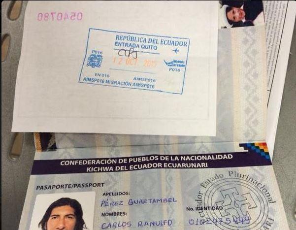 Migraci n desconoce validez de pasaporte ind gena la for Pasaporte ministerio interior