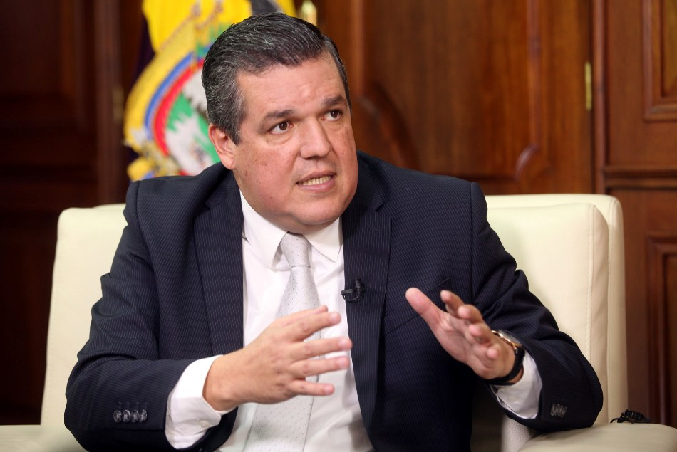 Pedro solines es designado nuevo ministro del interior for Nuevo ministro del interior 2016