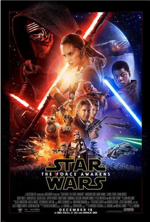 Foto tomada de la cuenta Twitter de Star Wars