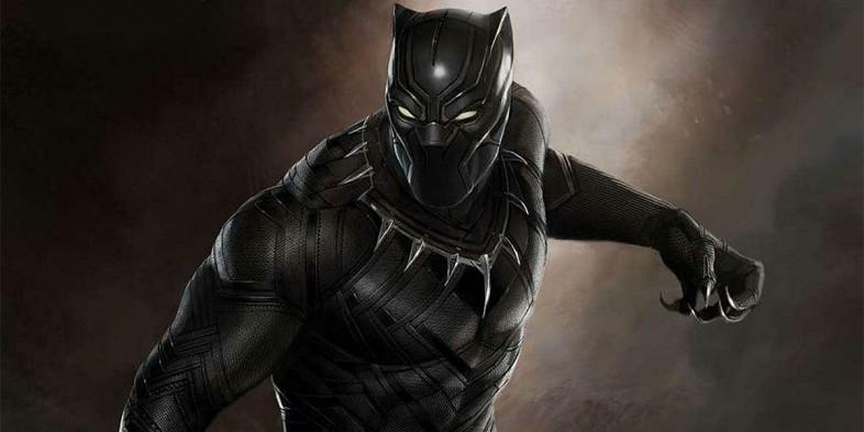 Arte conceptual de Black Phanter difundido por Marvel Studios.