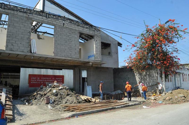 Avanza construcci n de casa albergue ronald mcdonald s for Casa mcdonald