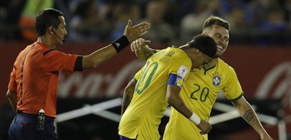 Lucas Lima, Neymar