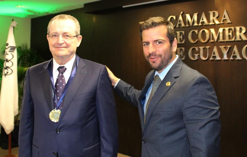 César Coronel y Pablo Arosemena.