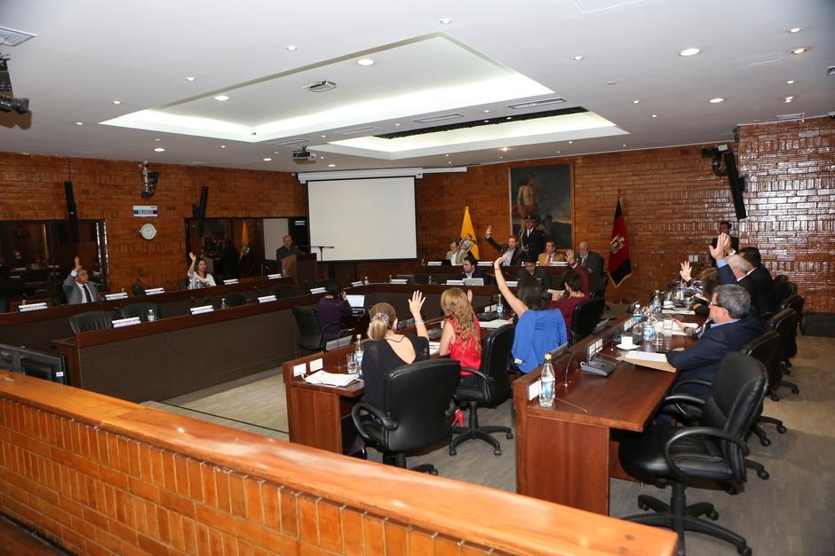 Concejo Metropolitano Sesion Extraordinaria
