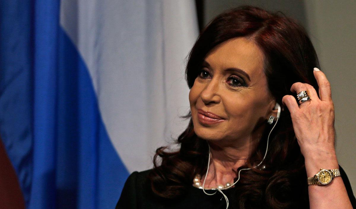 Cuestionan condecoración a <b>Cristina Fernández</b> - Cristina-Fernandez