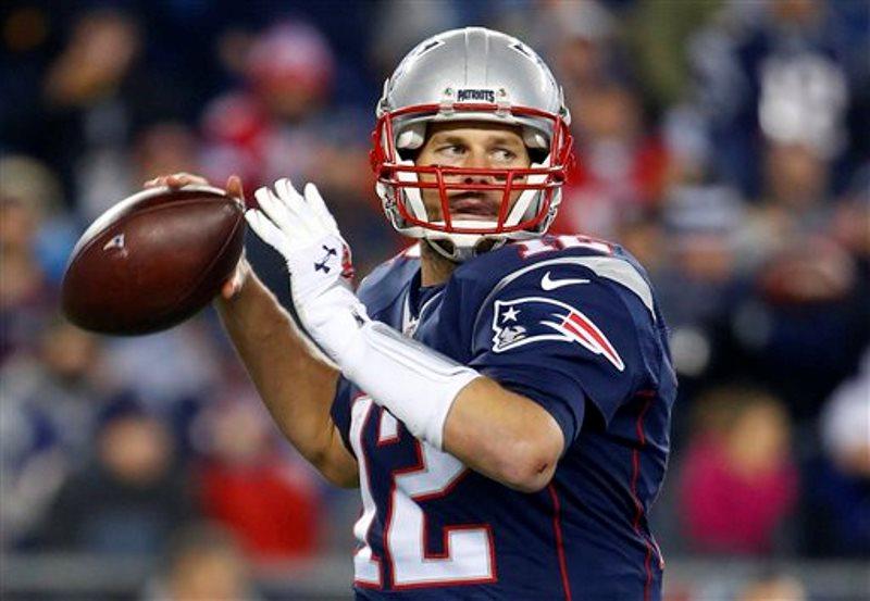 Tom Brady jugando