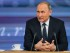 El presidente ruso, Vladimir Putin, habla durante su rueda de prensa anual de final de año en Moscú, Rusia, el 17 de diciembre de 2015. (AP Foto/Alexander Zemlianichenko)