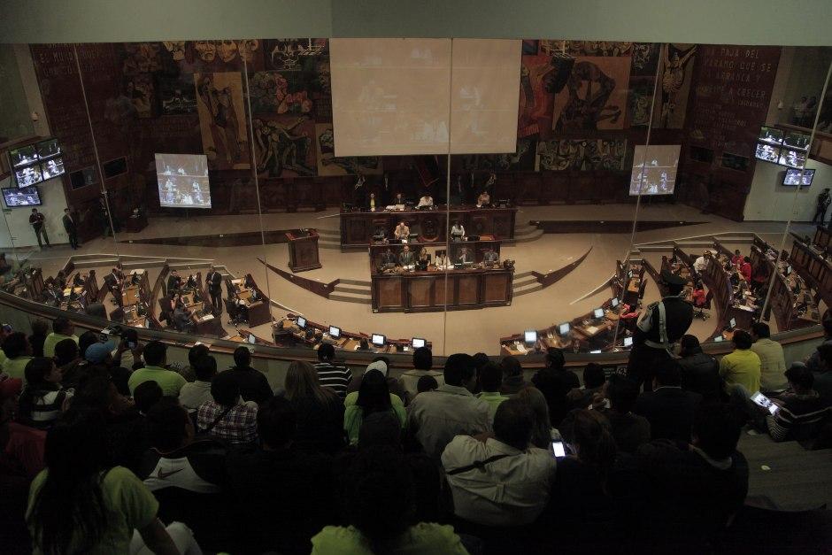 03 de diciembre de 2015 Tema: Segundo debate de la Solicitud de Enmienda Constitucional Fotografía: Alberto Romo / Asamblea Nacional