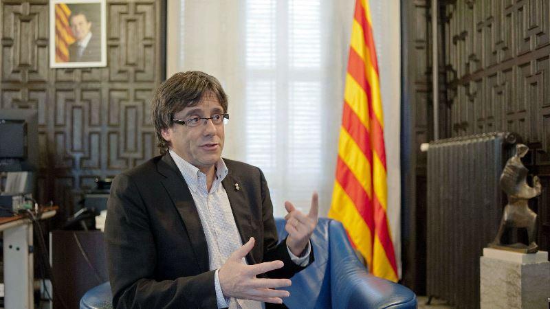 Carles Puigdemont Cataluña