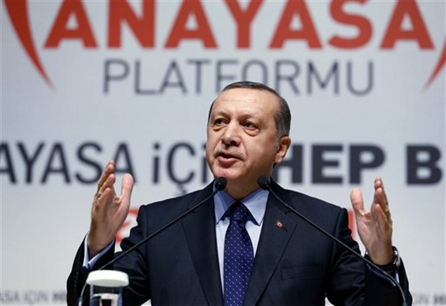 Erdogan turquia torso
