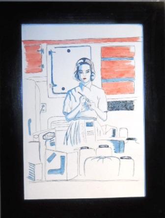 Gramaje mujer cocina
