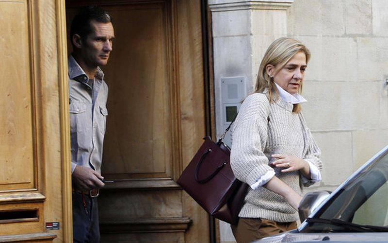Infanta Cristina y esposo