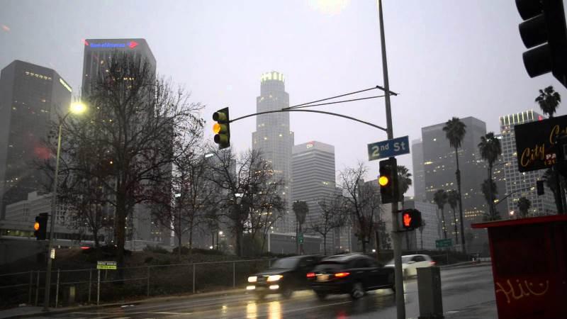 Los Angeles lluvia
