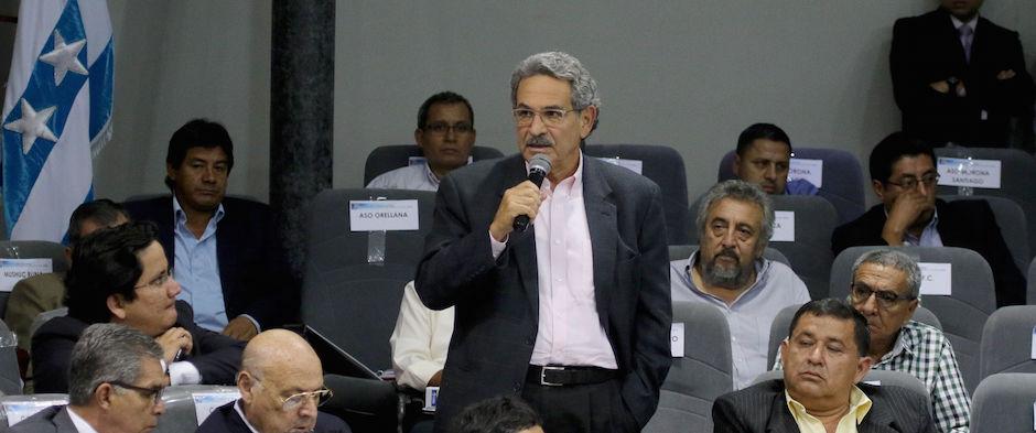 Guayaquil, 08 de enero del 2016 La federación Ecuatoriana de Futbol se instaló en el Congreso Ordinario de Fútbol 2016. Foto:API