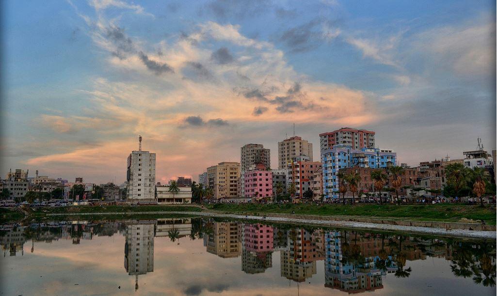 Dhaka, Bangladesh, subida a flickr, por Muhamel Hoque, en abril de 2012.