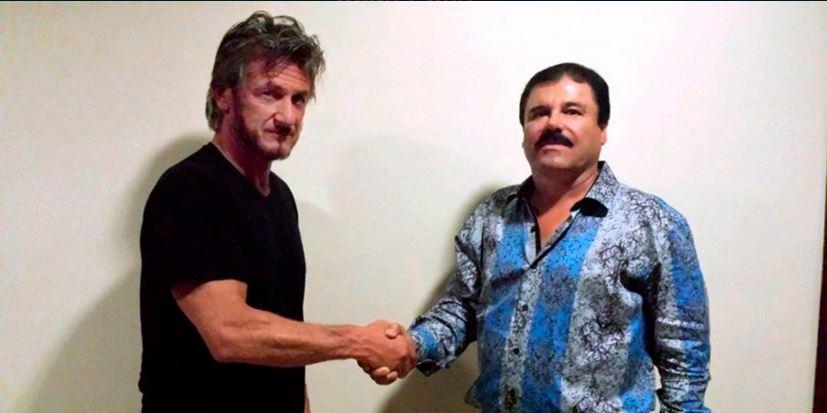Sean Penn y el Chapo Guzmán, en foto de fecha indetermida, difundida por la revista Rolling Stone.
